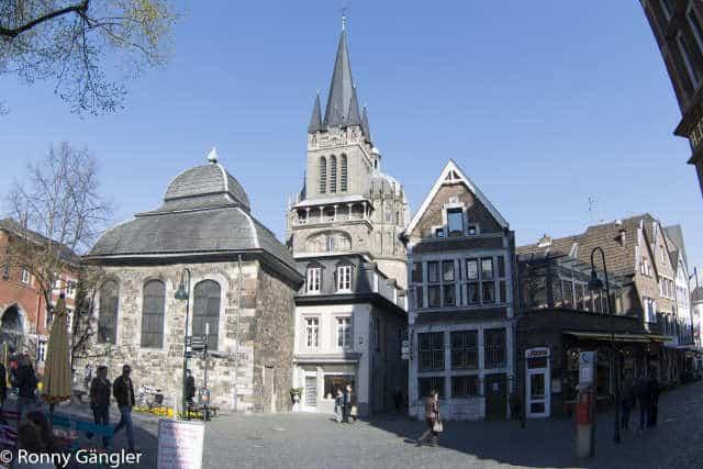 Ansicht Aachener Dom